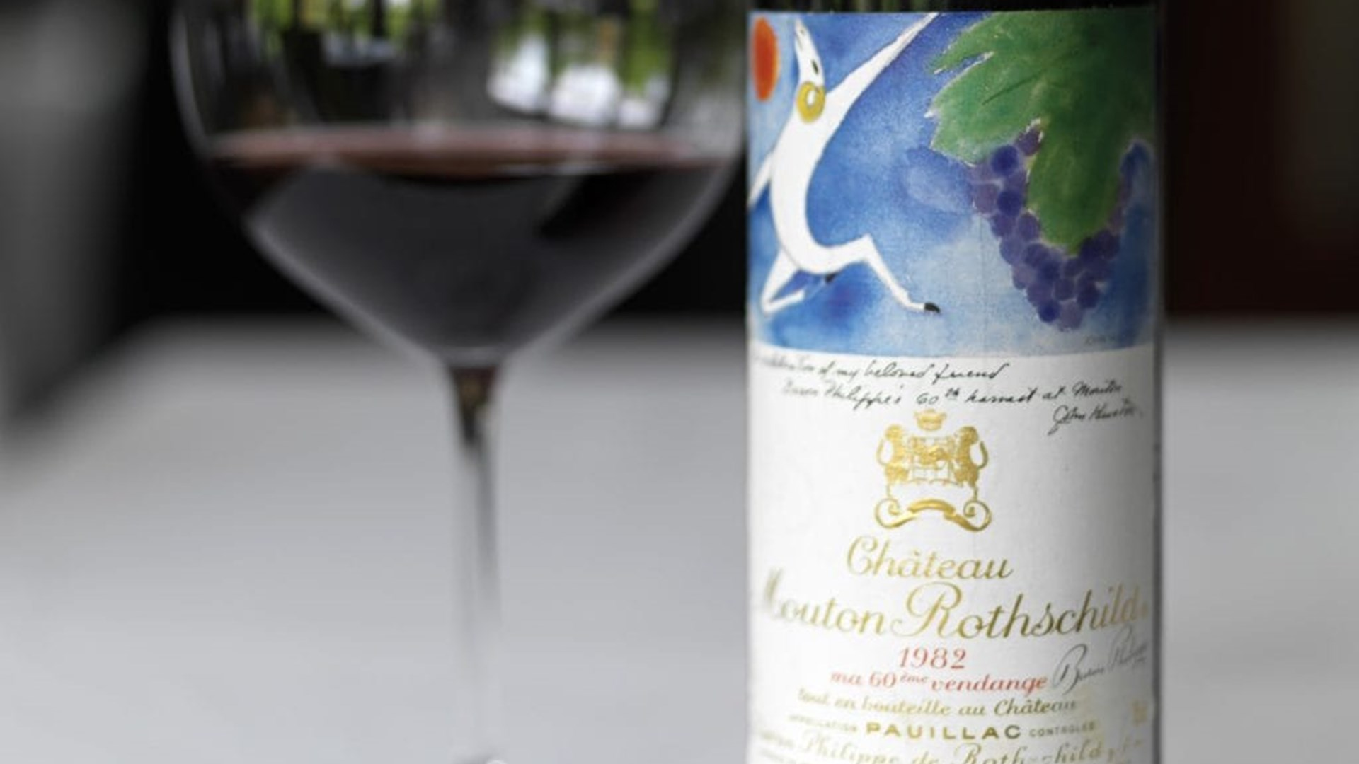 1982 Chateau Mouton Rothschild