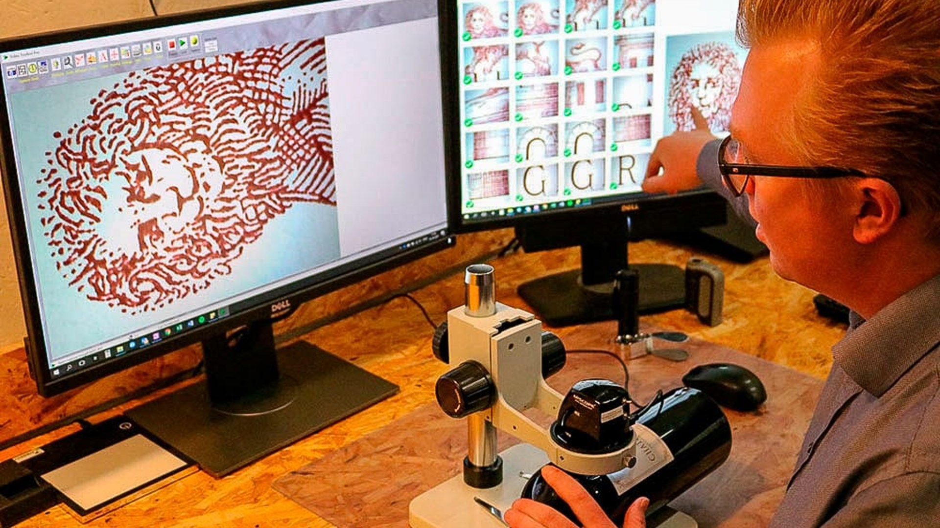 Digital Microscope Wine Detective