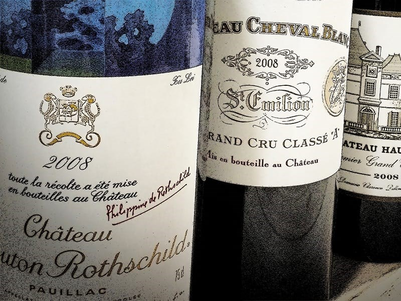 Chateau Mouton Rothschild 2008